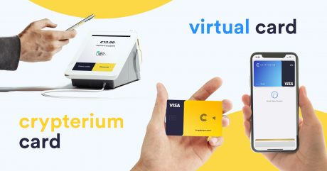 Apple Pay Now Supports Crypterium Virtual VISA Card