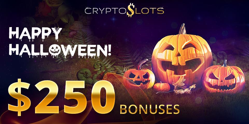 CryptoSlots Offers Halloween Version of Popular Slot and $250 Bonuses   NewsBTC
