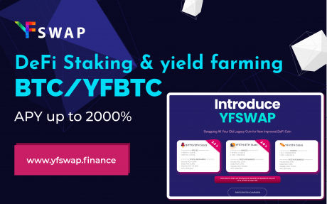 YFSwap to Turn Legacy Cryptocurrencies into High Yield DeFi Tokens
