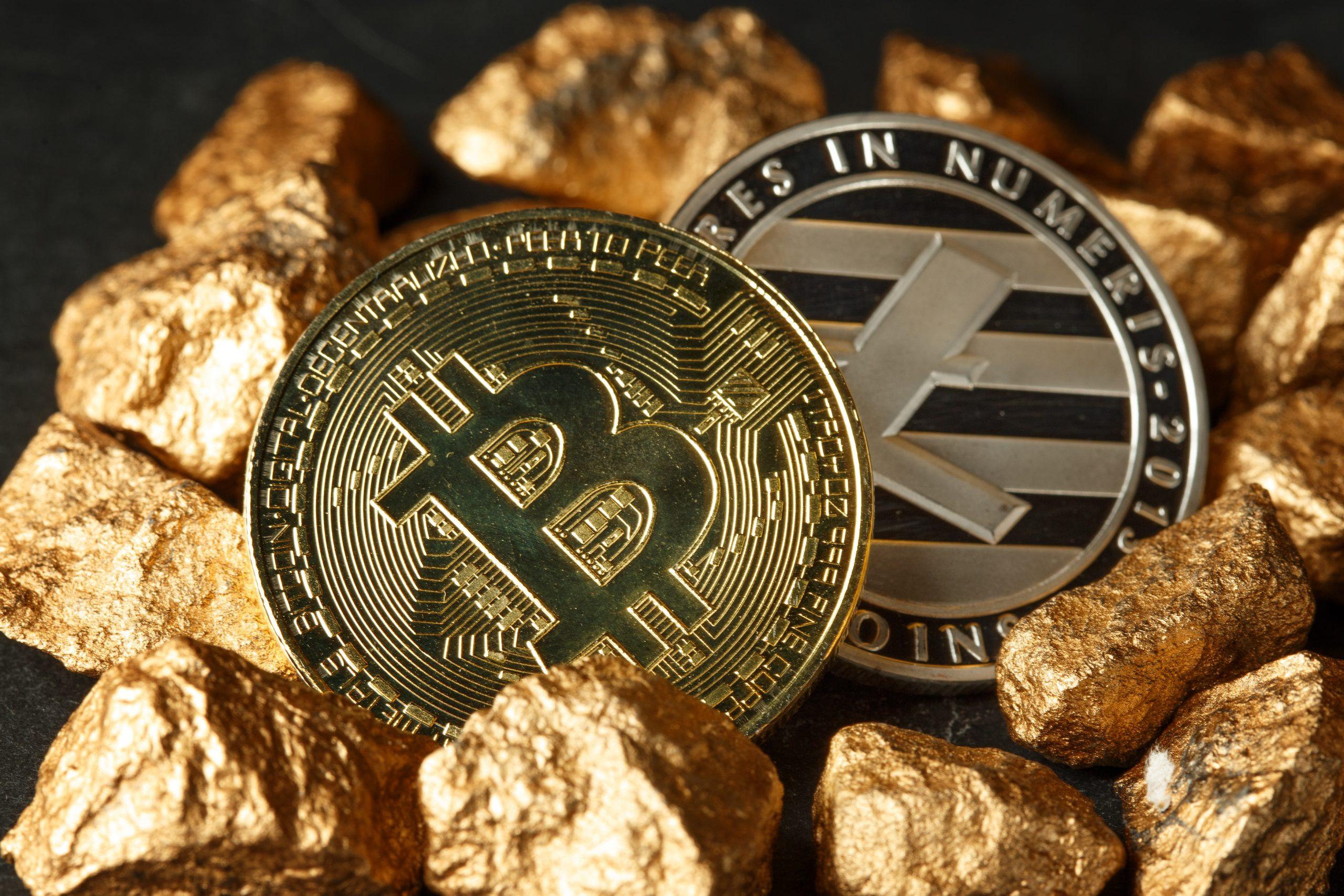bitcoin litecoin ethereum silver gold