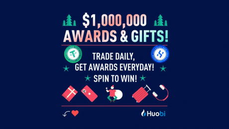 Huobi Welcomes New Year in Style, Offers Over $1 Million in Awards and Gifts Giveaways to its Users