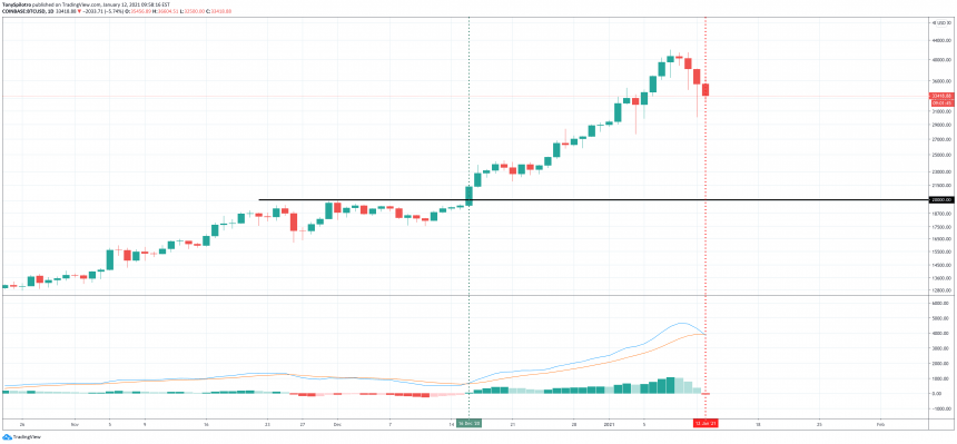 bitcoin macd daily