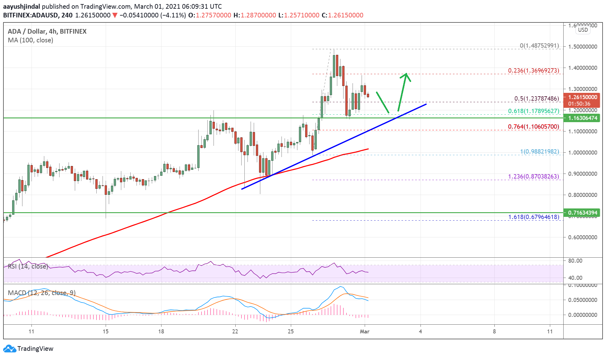 Charted: Cardano (ADA) Holding Crucial Support, Why It Could Surge Again