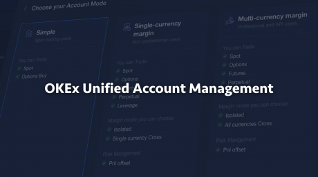 Unified Account – OKEx Introduces A Single Account to Trade Anything on the Platform