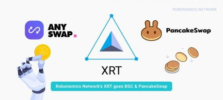 Robonomics expansion: XRT goes to BSC & PancakeSwap