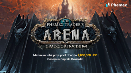 Fastest Crypto Trading Platform Announces Phemex Trader's Arena Contest with $2 Million Prize Pool