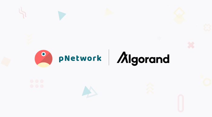 pNetwork And Algorand Launch Partnership To Create Cross-Chain Connections