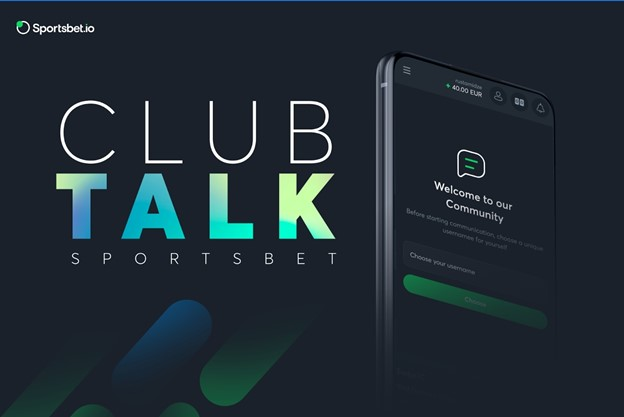 Sportsbet.io Continues Community Growth with New Club Talk Feature