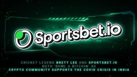 Australian Cricket Legend Brett Lee Joins Sportsbet.io in Donating Bitcoin to Help the Covid Crisis in India