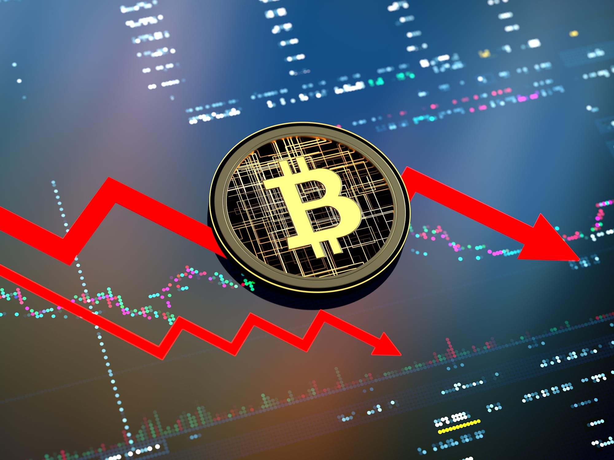 Blood In The Streets: Crypto Market Becomes Fearful As Bitcoin Dives