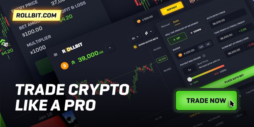 Rollbit: An Exciting Cryptocurrency Trading Platform Offering x1000 Leverage