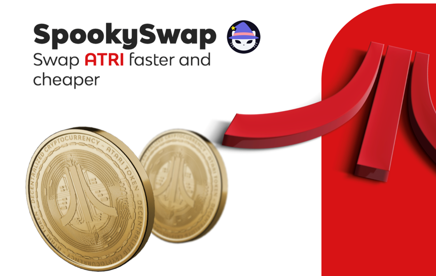 Blockchain Gaming Enthusiasts Can Now Swap ATRI Tokens Faster And Cheaper Using SpookySwap