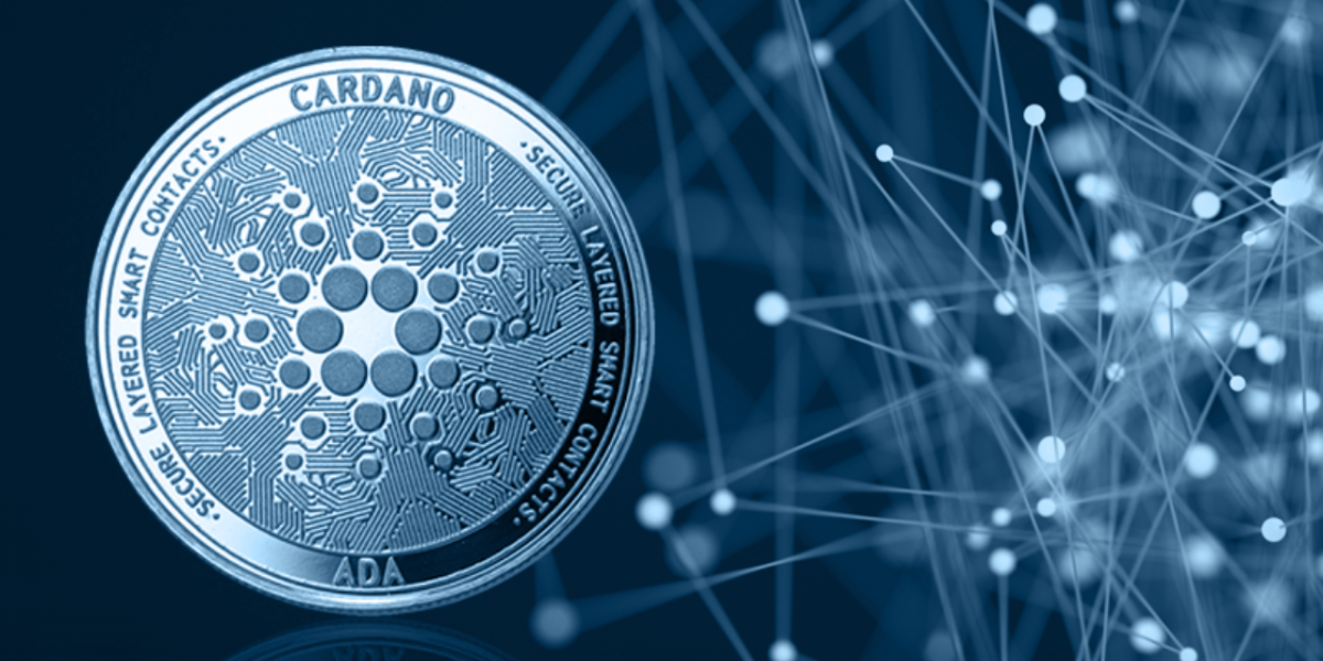 Picture of cardano coin