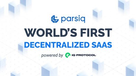 PARSIQ Introduces New Subscription Model as World's First Decentralized SaaS Powered by IQ Protocol