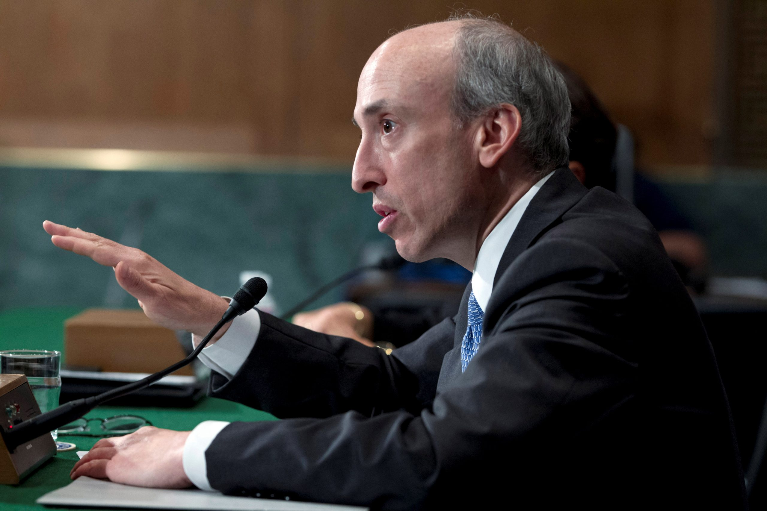 Picture of SEC Chairman Gary Gensler