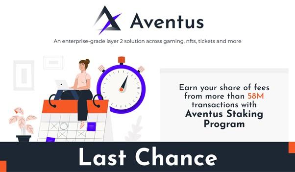 Последний шанс присоединиться к программе стейкинга Aventus и заработать на более чем 58 млн транзакций уровня 2 уровня предприятия »/> </p> <p> В отличие от других решений блокчейна уровня 2, Aventus является решением уровня предприятия, имеющим соглашение о на борту более 58 миллионов транзакций от различных клиентов из различных секторов. </p> <p> Программа стейкинга Aventus уже заполнена на 80% и приступила к обработке первой из не менее 58 миллионов транзакций. </p> <p>Публично заявленная цель компании — достичь 1 миллиарда транзакций второго уровня в ближайшие пару лет. Стейкеры получают свою долю комиссионных за транзакции в рамках сетевой модели подтверждения транзакции. Программа ставок закроется, когда она заполнится. </p> <p> Вот все, что вам нужно знать о программе ставок Aventus и о том, как попасть в нее до ее закрытия. </p> <h3> О Aventus Network </h3> <p>То, что начиналось как решение для продажи билетов на основе блокчейна для борьбы с мошенничеством с билетами, превратилось в настраиваемую блокчейн-сеть уровня 2, которая позволяет предприятиям & amp; dapps основаны на Ethereum и других цепочках, чтобы обрабатывать транзакции со 100-кратной скоростью и 1% стоимости. </p> <p> Всем известно, что комиссии Ethereum находятся на рекордно высоком уровне, а масштабируемость ограничивается всего лишь 13 транзакций в секунду. Этого недостаточно. </p> <p>Aventus Network — это решение уровня 2, которое обеспечивает масштабность и конфиденциальность разрешенной цепочки блоков с безопасностью и функциональной совместимостью общедоступных цепочек блоков — без каких-либо недостатков ни того, ни другого. </p> <p> Все текущие и будущие транзакции будут проходить через основная сеть тоже. Вы можете найти полную прозрачность всего трафика и сборов сети Aventus на сайте explorer.aventus.io. </p> <p> Более того, поскольку существует множество конкурентов Ethereum, а также другие частные/разрешенные сети, Aventus строит с использованием субстрата, который упрощает превра