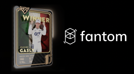 Pierre Gasly Partners with Fantom to Become the First Formula 1™ Driver to Offer One of a Kind NFTs for Fans