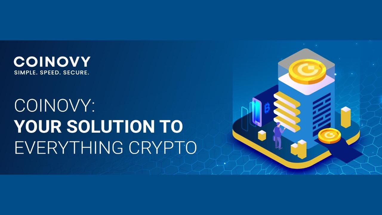 Coinovy: ваше решение для всего Crypto